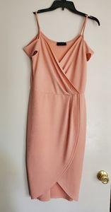 AX Paris | Cold shoulder Faux Wrap dress